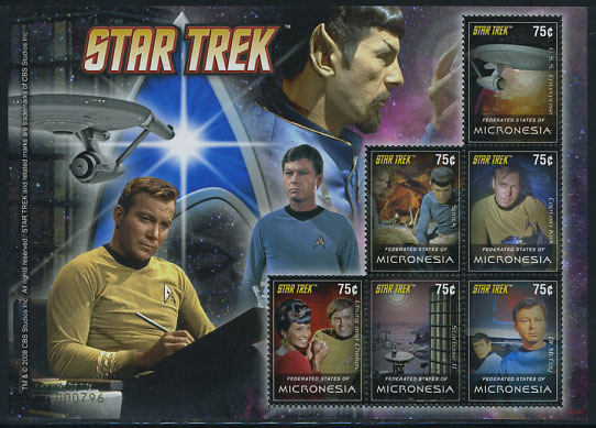 stamps-Star-Trek