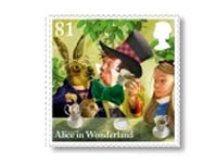 Alice in Wonderland stamps
