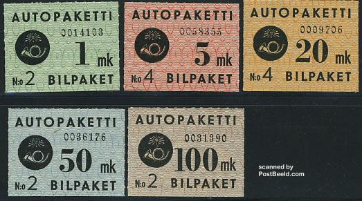 Bus parcel stamps 1949