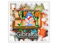 Christmas Stamp 2014 Gibraltar
