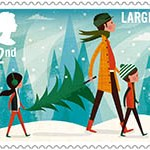 Great Britain Christmas 2014 Miniature Sheet