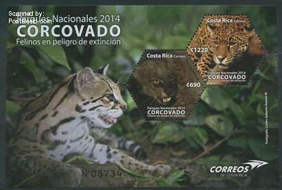 Postzegels-Costa-Rica