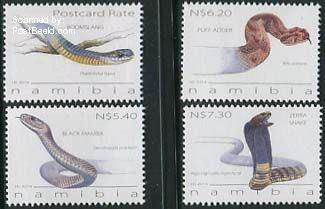 Postzegels-giftige-slangen-Namibië-nmp31406
