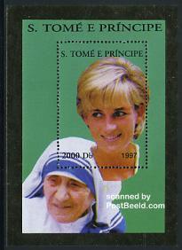 Princess Diana hunchback stamp