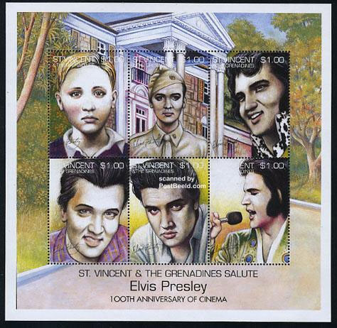 very ugly Elvis stamps
