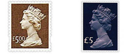 New Machin stamps in 1999