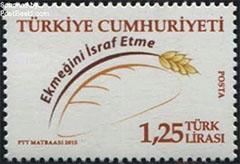 Postage stamp Turkey 2015