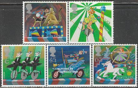 Circus, Europa theme 2002, Great Britain