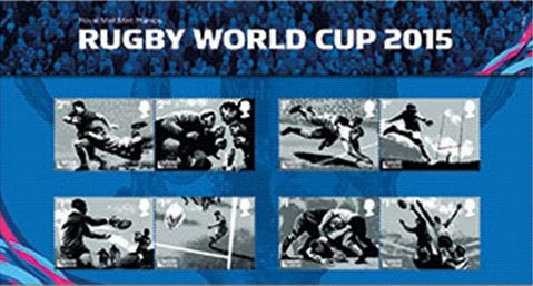 Rugby-Stamps