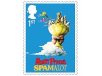 Monty Python stamp Great Britain