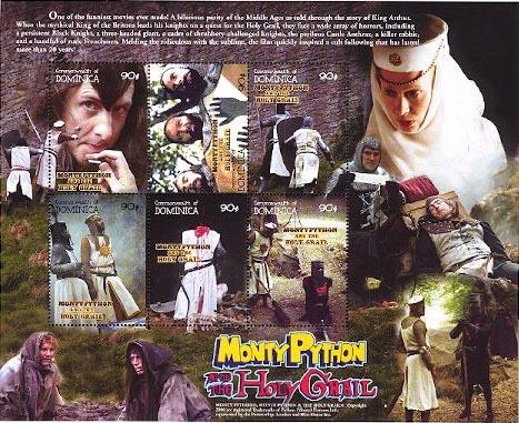 Monty Python stampssheet