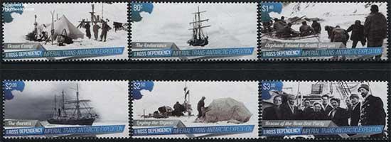 Shackleton-stamps