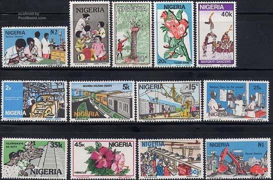 Nigeria postage stamps