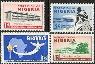 nigeria stamos 1960