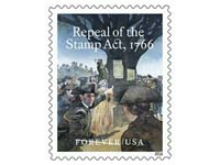 stamp-act stamp