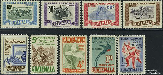 Stamps guatemala
