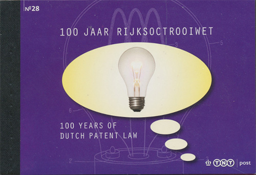 Patent booklet Netherlands