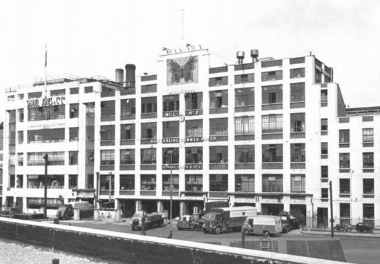 The Samuel Jones factory in Camberwell, 1960s.