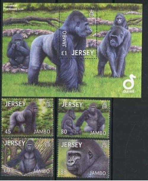 Jambo stamps Jersey