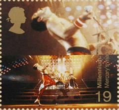 mercurie op postzegel