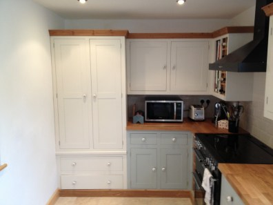 Shaker Style - white cupboard units