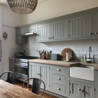 Customer photo of Free Standing Kitchen by Woodstock Bristol