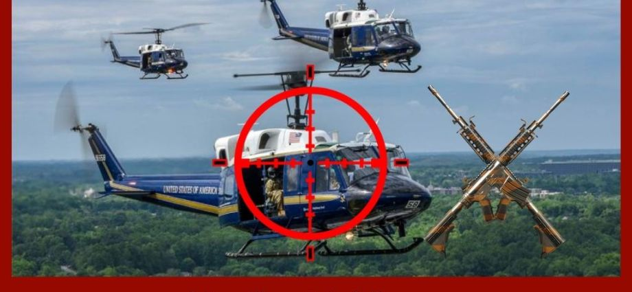 Airman Injured When Military Helicopter Shot