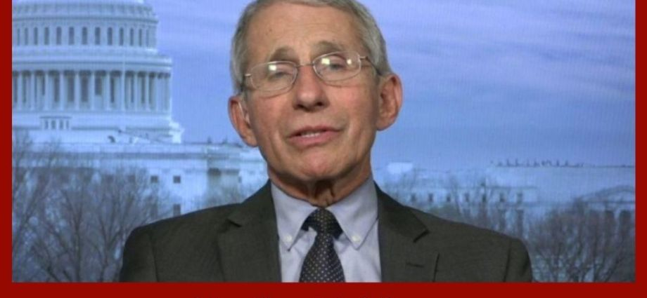 Fauci Issues Yet ANOTHER Warning