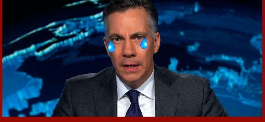 CNN Host Almost Cries