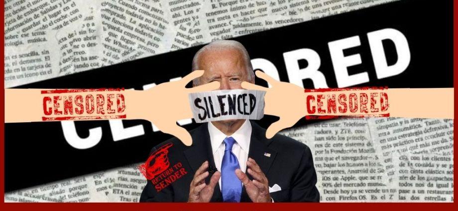 Biden Camp All For Censorship