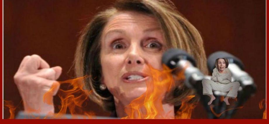 Nancy Pelosi Goes All Mob Daughter