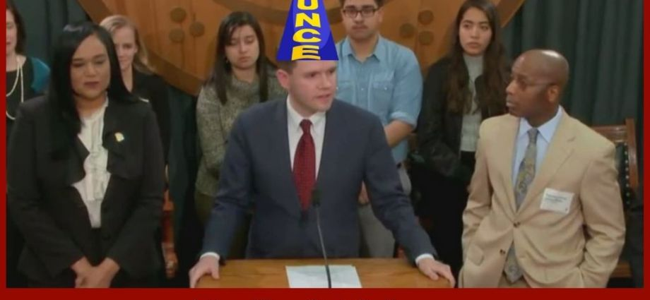 Texas Lawmaker Takes Stupid To An Entirely New Level!