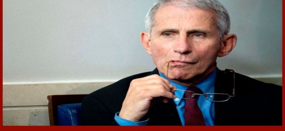 Fauci Not Happy With Recent Demands