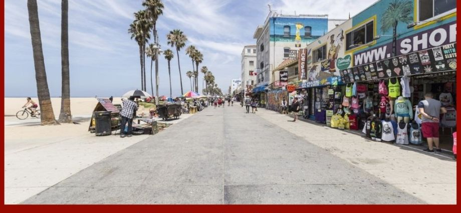 Venice Beach Boardwalk Destroyed