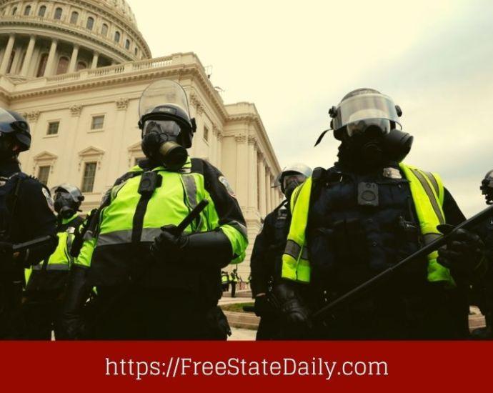 Capitol Police Bring Lawsuit Against Trump