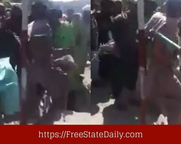 Man Whipped In Public As Taliban Tosses Human Rights Gains