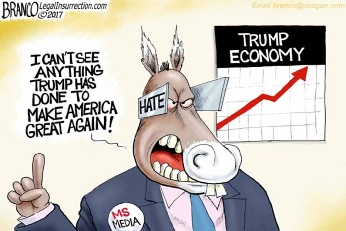 Economic News: The Booming Economy Doesn't Seem to Matter to Democrats