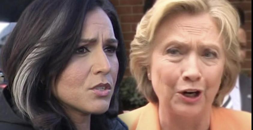 Tulsi Gabbard and Hillary