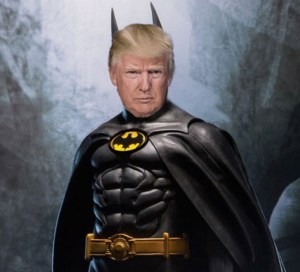President Donald J. Trump as Batman