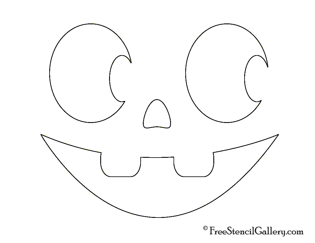 Jack O Lantern Faces Printable