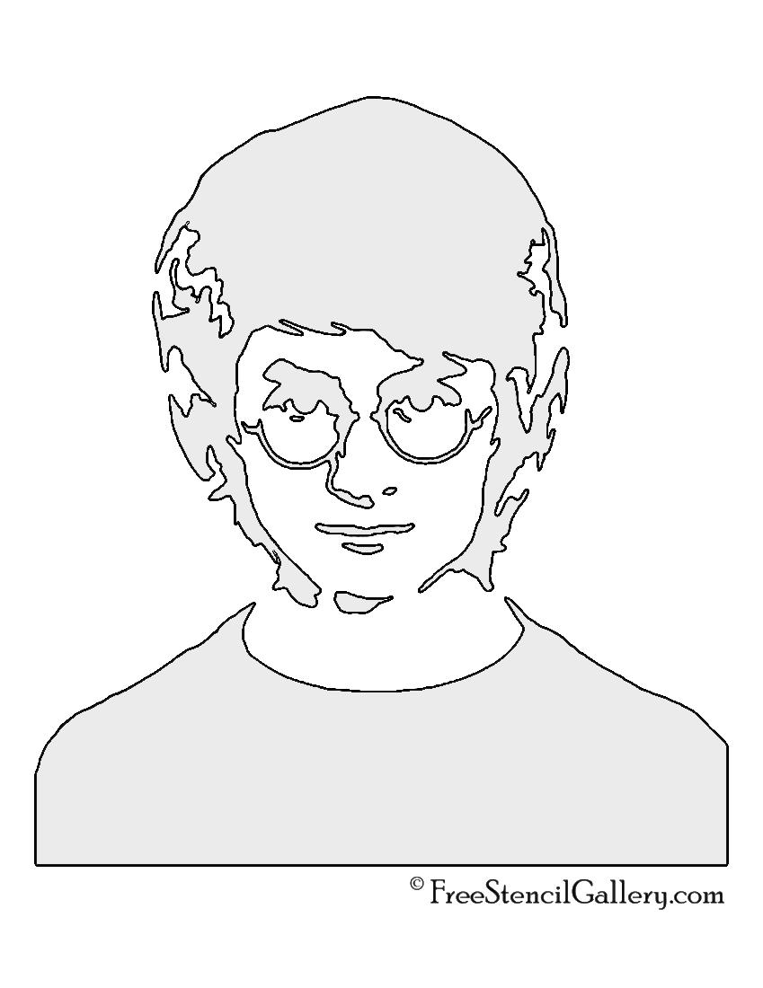 Printable Harry Stencils Footprint Potter