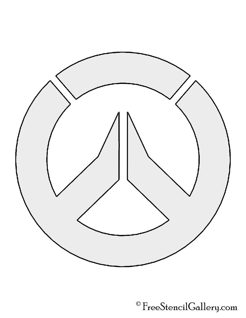 Overwatch Symbol Stencil Free Stencil Gallery