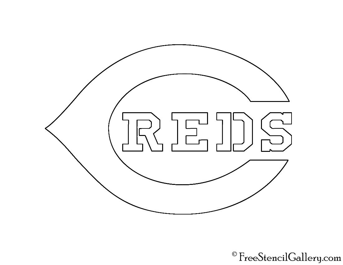 Cincinnati Reds Coloring Pages