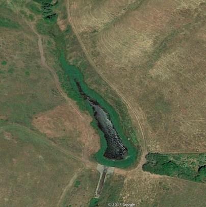 Lower sedimentation pond