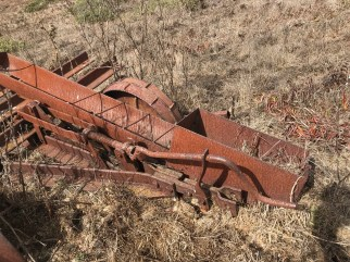Old tillage implement