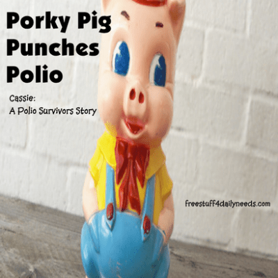 Porky Pig Punches Polio