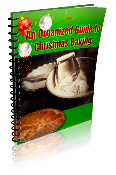 an organized guide to christmas baking ecover