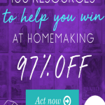 97 Percent Off The Ultimate Homemaking Bundle