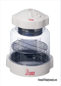 nuwave oven for penny table