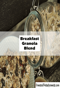 breakfast granola blend